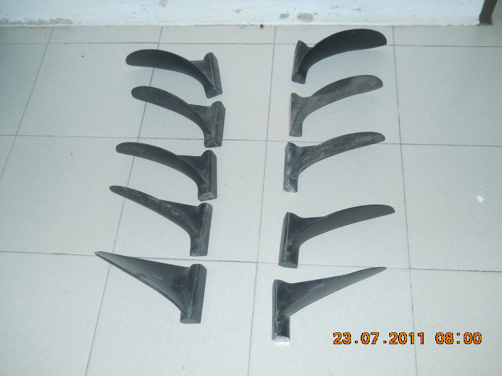 Serie of Propeller Molds dia 17 inches
